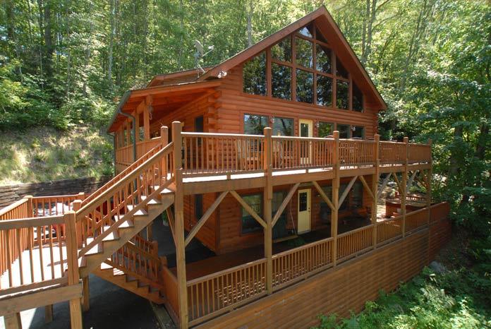 Maggie Valley Cabin Rentals Creek N Woods Vacation Rentals