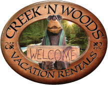 Creek 'n Woods Vacation Rentals