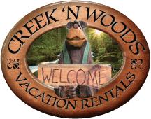 Creek 'n Woods Vacation Rentals